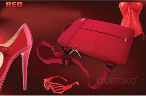 pofoko waterproof shoulder carry bag pouch for macbook pro Air 11.6 12 13 15 17