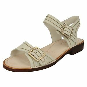328f197fa28a Details about SALE LADIES CLARKS LEATHER BUCKLE SLINGBACK CASUAL DRESS  SANDALS CABARET GLITZ