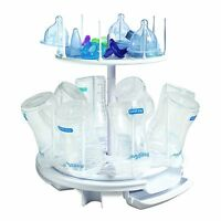 The First Years Baby Spinning Drying Rack Bottle Storage Holder Infant Toddler on sale