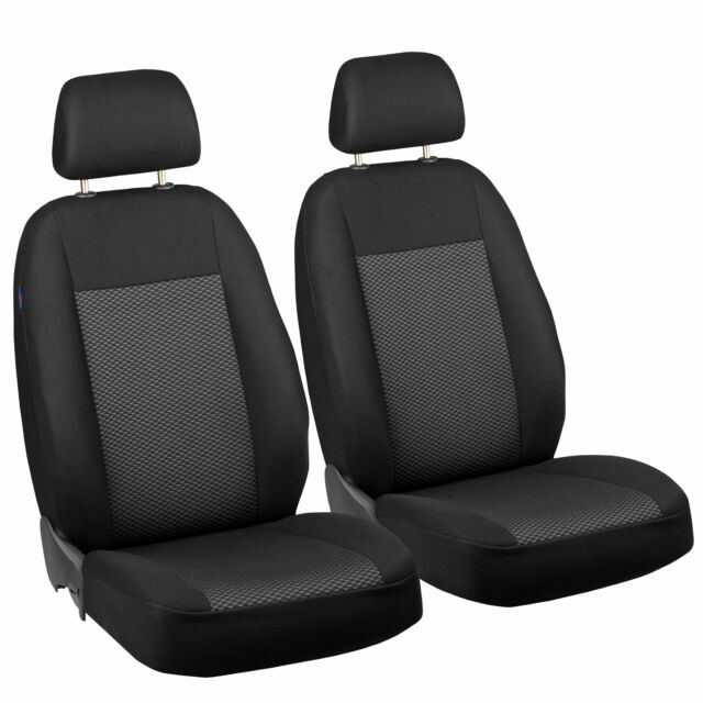 Front seat covers fit Toyota Yaris black//beige  Leatherette