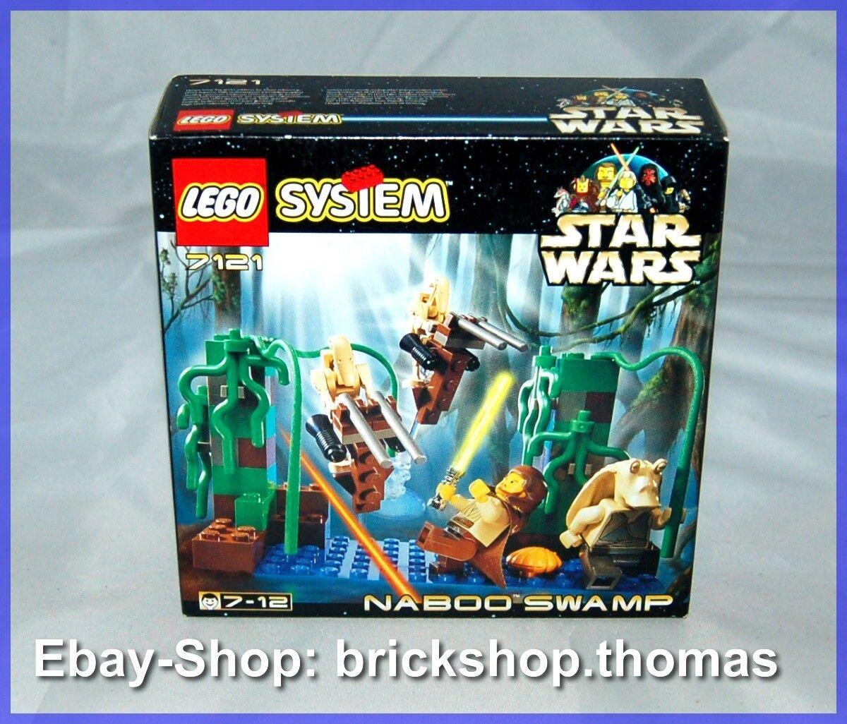 LEGO star wars 7121-Naboo  swamp-Neuf nouveau  designer en ligne