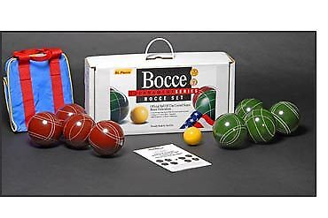 Tournament Bocce Set  by St.Pierre - Made in USA  quick answers