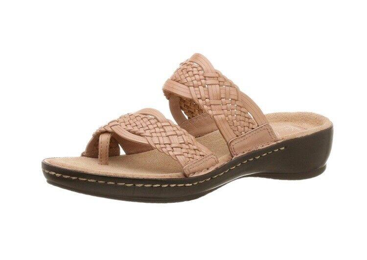 CLARKS Artisan Women's Hopper Sandal Sandal Sandal tan coral f1913a