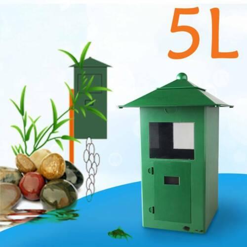 5L Food Filter Automatic Fish Pond Tank Aquarium Feeder LCD Display Digital Hot