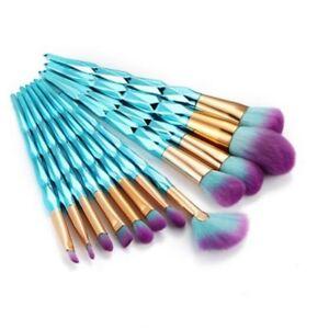 12-PCS-Licorne-Sirene-Pinceaux-a-Maquillage-Outil-Cosmetique-Visage-Pratique