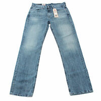 Mens Authentic Levis 514 Straight Regular Fit Blue Jeans With Tags Many Size