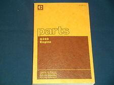 Cat Caterpillar G398 Engine Parts Book Manual Sn 73b906 Up