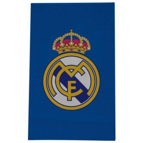 Real Madrid Imprimé Crest Tapis-FC Officiel Football nouveau produit sous licence Cadeau