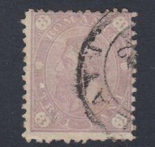 Rumania: 1890 Rey Carol 3b Malva SG259 Usado