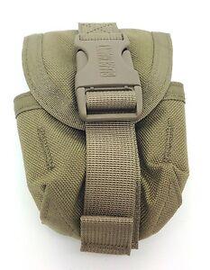 Blackhawk STRIKE Frag Grenade SINGLE Gen 4 Molle Pouch Coyote Tan USMC