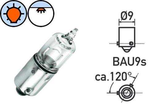 BULB 12V 10W BAU9S H10 CAR SIDE INDICATOR WARNING TURN SIGNAL LIGHT LAMP PANEL