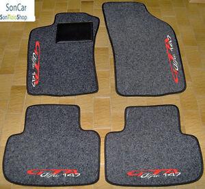 ALFA ROMEO 147 GTA TAPPETI AUTO SU MISURA+4decori+4blok