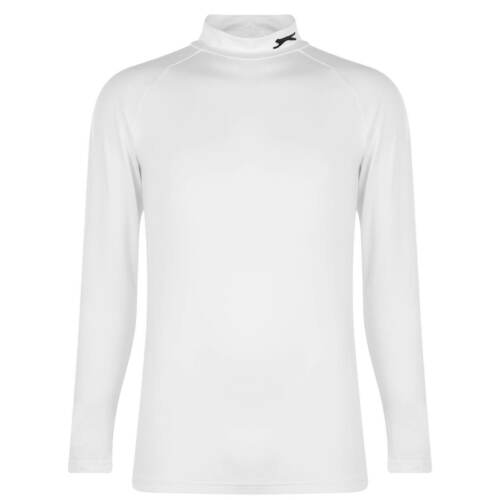 Slazenger Mock Base Layer Mens Gents Baselayer Top Compression Armor Thermal