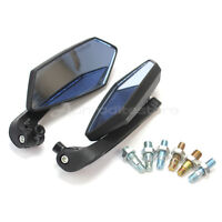 2x Durable Rearview Rear View Left Right Side Mirrors 8mm 10mm for Motorcycle