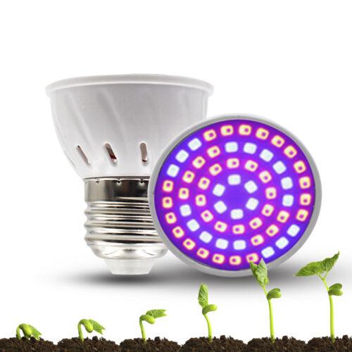 E27 Garden LED Light for Veg Flower Indoor Plant Hydroponics Growth lamp Bulbs