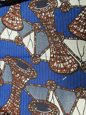 African Collage Print Fabric BY 1//2 YARD Ankara kitenge fancy wax p1276