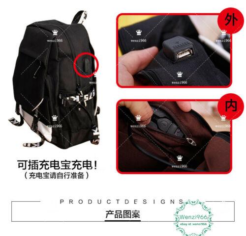 Big Canvas bag Backpack Anime Azur Lane  Shoulders Bag Casual Schoolbag #Z3