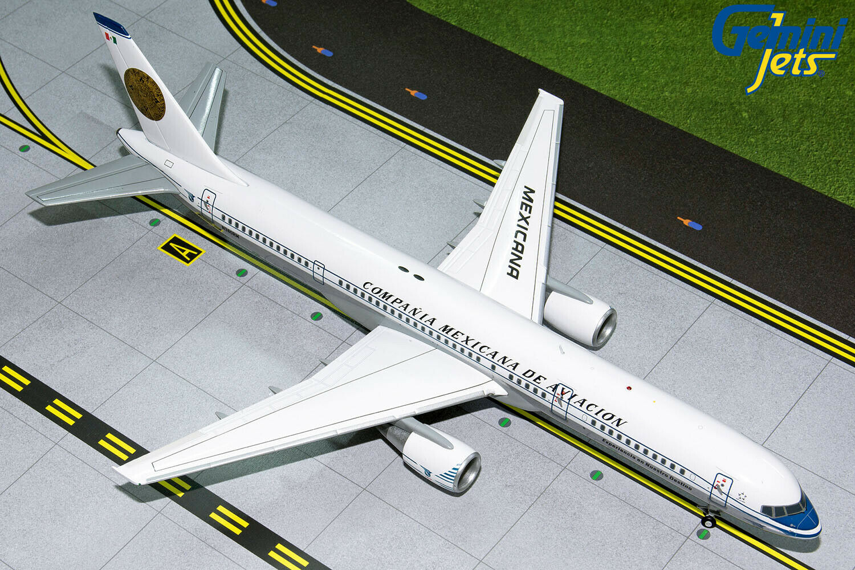 Mexicana Boeing 757-200 N380RM Retro Gemini Jets G2MXA806 escala 1 200 En Stock