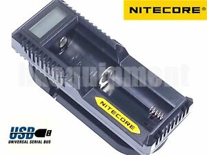 Archon Two Slots 18650 Battery Charger for 18650 Rechargeable Li-ion Battery
