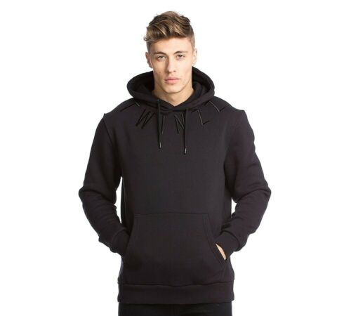 RRP £64.99 Mens Twinzz Louis OTH Black Hooded Top PA1