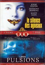 2  D.V.D./...LE SILENCE DES AGNEAUX   +   PULSIONS........