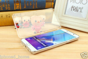 buy popular f9ae1 aa5d9 Details about Transparent Crystal Clear Jelly Book Case Flip Cover For  Samsung Galaxy Note 5