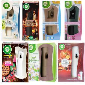 Air-Wick-Freshmatic-Gadget-Machine-amp-Refill-250ml-choose-your-fragrance-Airwick