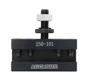 Accusize Industrial Tools Style Axa Turning And Facing Quick Change Tool Post Ho