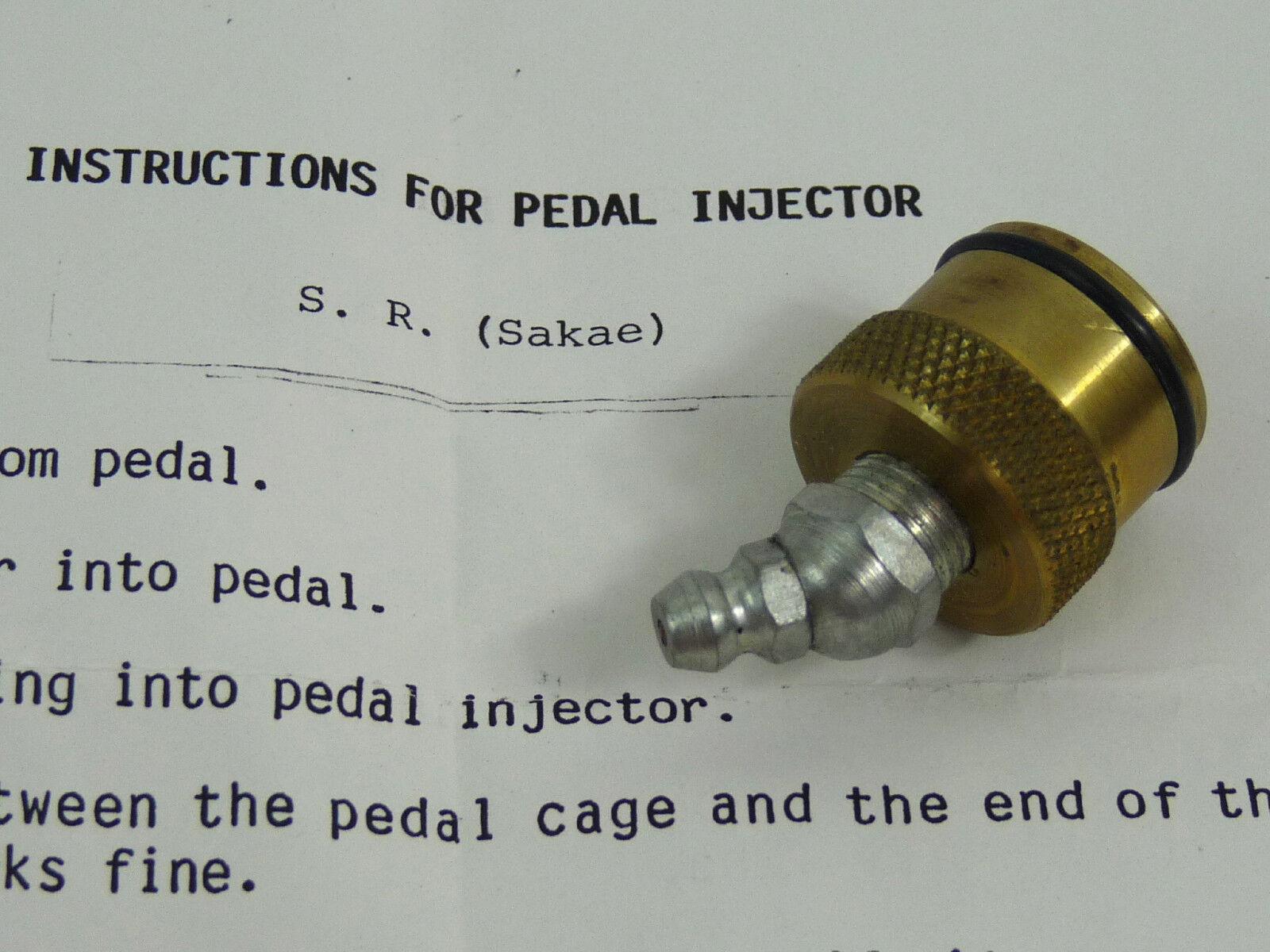 Stein Pedal Injector  Tool For Greasing SR Sakae Vintage Road bike mtb BMX NOS  brand