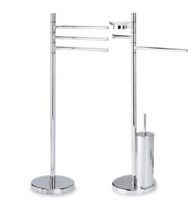 Accessori Per Bagno Piantane.Dettagli Su Accessori Bagno Piantana Porta Asciugamano Asciugamani Toilette Salviette Inox