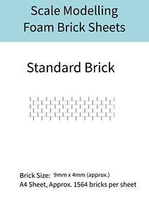 DéVoué Scale Modelling Diorama Accessoires-standard Brique échelle 1/48 Mousse Feuilles-afficher Le Titre D'origine