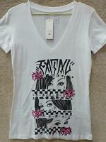 Fatal Clothing Women's T-shirt eyes On --- Color White