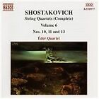 Dmitry Shostakovich - Shostakovich: String Quartets (Complete), Vol. 6 (1998)