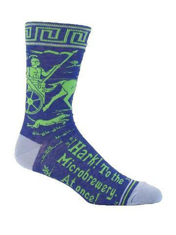 Hark! To The Microbrewery, At Once! Men's Socks
