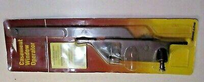 "Wood Casement 0503 Window Crank Operator USA 9/"" Arm Dark Bronze Brown Right Hand"