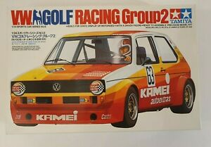 TAMIYA V.W. GOLF RACING GROUP 2 1/24 MODEL KIT 24008