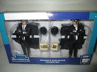 2015 I Love The 80's Blues Brothers Misb 7 Elwood & Jake Blues Figure Set
