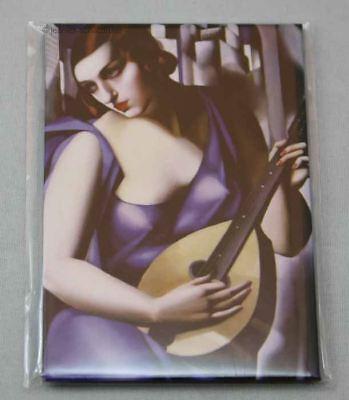 Magneten GemäßIgt Magnet Pin Kuhlschrankmagnet Lempicka Woman With Mandolin HöChste Bequemlichkeit