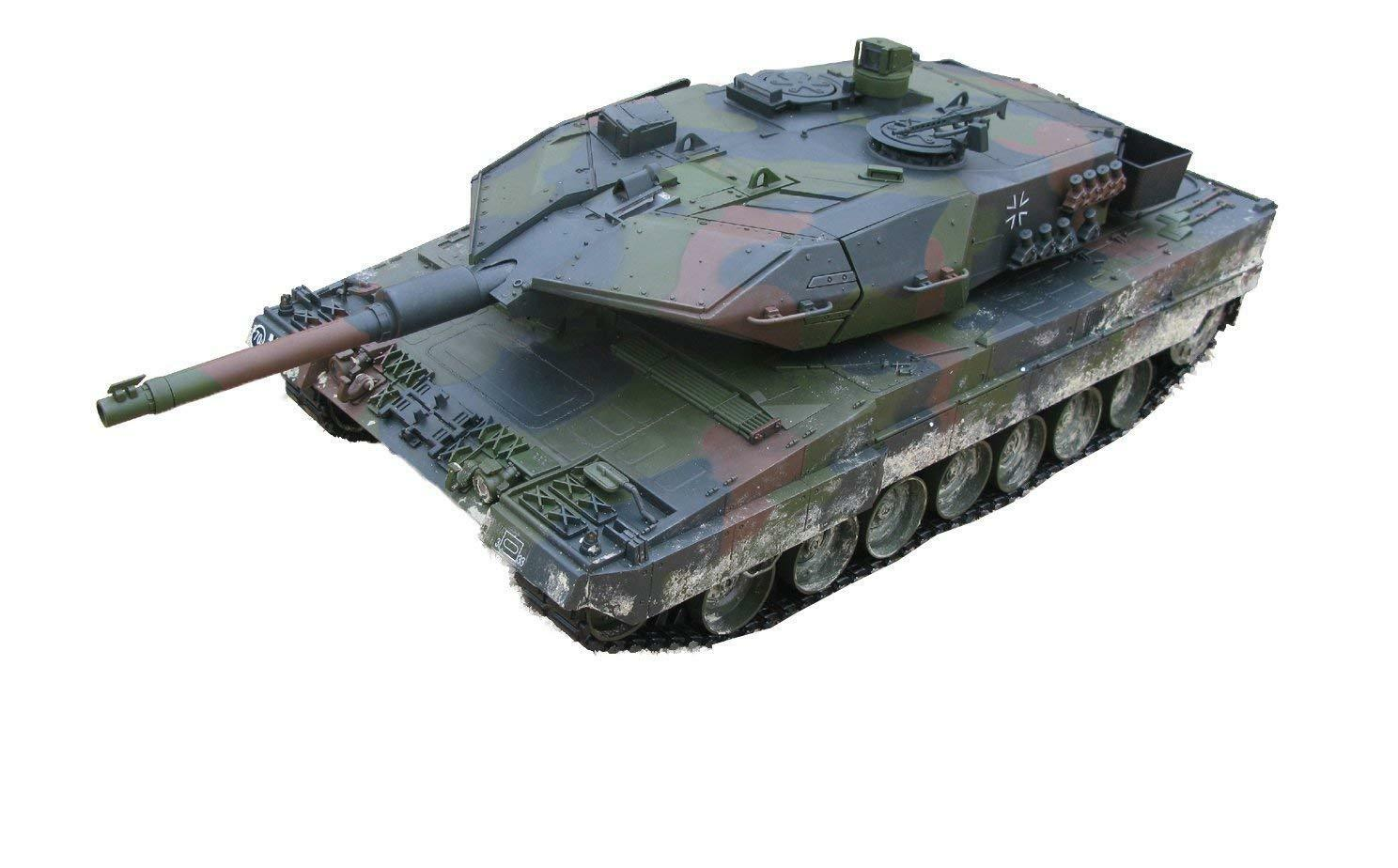 Hobby Engine   2.4GHz Leopard 2A RC Ready To Run Airsoft Tank, 1 16 Scale [0707]