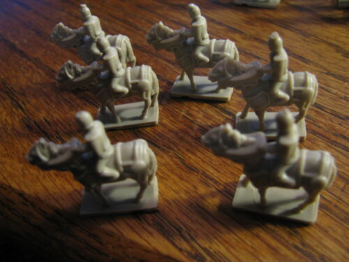 Sid Meier/'s Civilization Boardgame 6 Replacement Knight Pieces  Flat# F