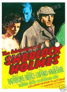THE-ADVENTURES-OF-SHERLOCK-HOLMES-LOBBY-CARD-POSTER-OS-1939-BASIL-RATHBONE
