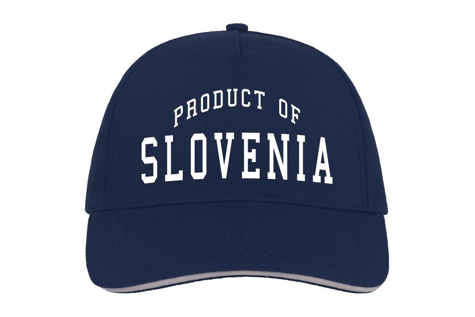 Slowenien Produkt Von Baseballmütze Cap Maßgefertigt Geburtstagsgeschenk Country