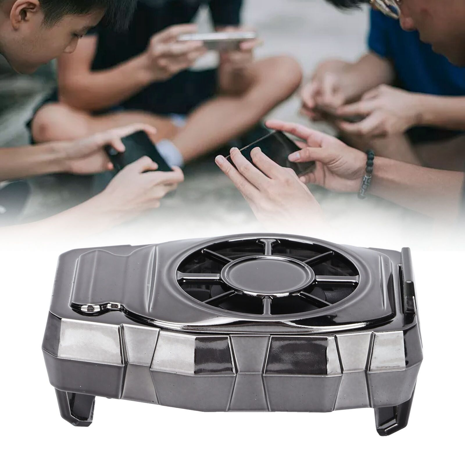 Mobile Phone Cooler Radiator Mute Cooling Fan Holder Universal Phone Parts