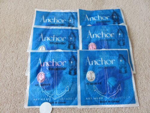 6 Anchor mantles 500CP fits on anchor,petromax,hipolito /& others