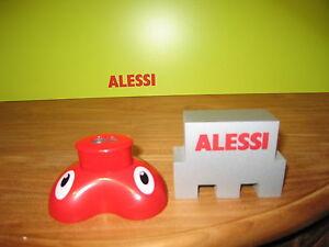 Alessi *new* Taille-crayon Résine Rouge 9,8x7,4cm H.5,1cm Amgi05r Pig Pencil Xtfsr3gk-07175822-977934362