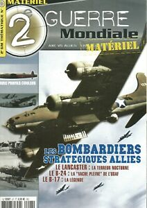 2e Guerre Mondiale Thema Materiel N°27 - Les Bombardiers Strategiques Allies MatéRiaux De Haute Qualité