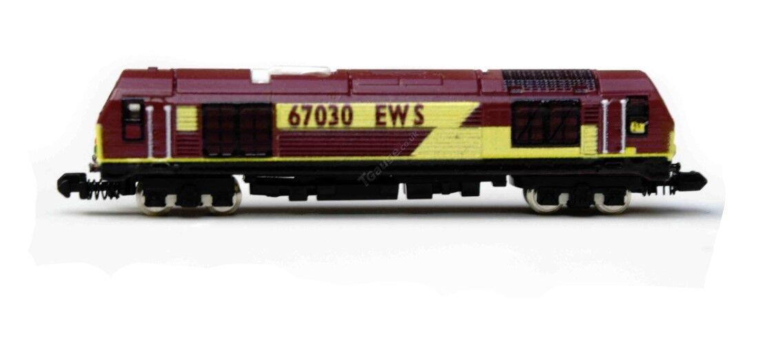 T calibre BR Clase 67 locomotora número 67030