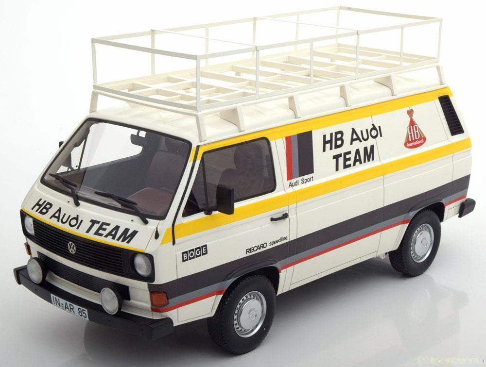 Premium Classixxs Volkswagen T3 Kastenwagen Hbi Équipe 1980 1 18 New en