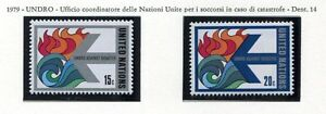19149) UNITED NATIONS (New York) 1979 MNH** UNDRO Against Disaster