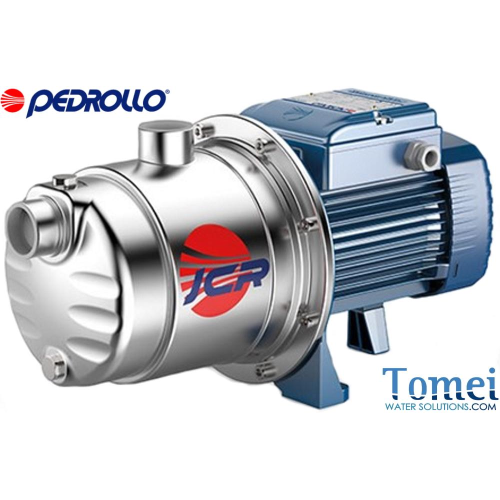 Self-priming JET pump PEDROLLO in Stainless steel AISI 304 Impeller 1,1kW 1,5HP